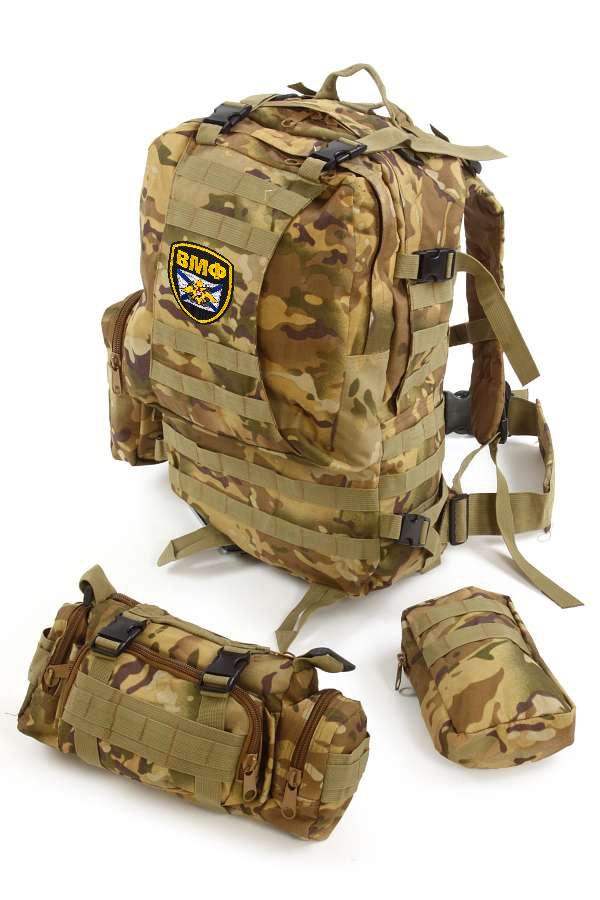 Функциональный военный рюкзак ВМФ от ТМ US Assault - заказать с доставкой