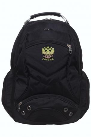 Функциональный заплечный рюкзак с нашивкой Россия