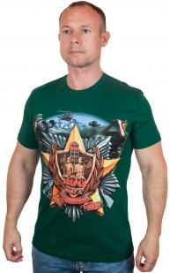 Купить мужскую футболку к вековому Юбилею Погранвойск в Военторге Военпро