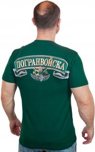 """Футболка """"100 лет Погранвойскам"""" по лучшей цене"""