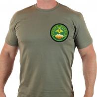 Сильная мужская футболка для бойцов 117 Московского Пограничного Отряда