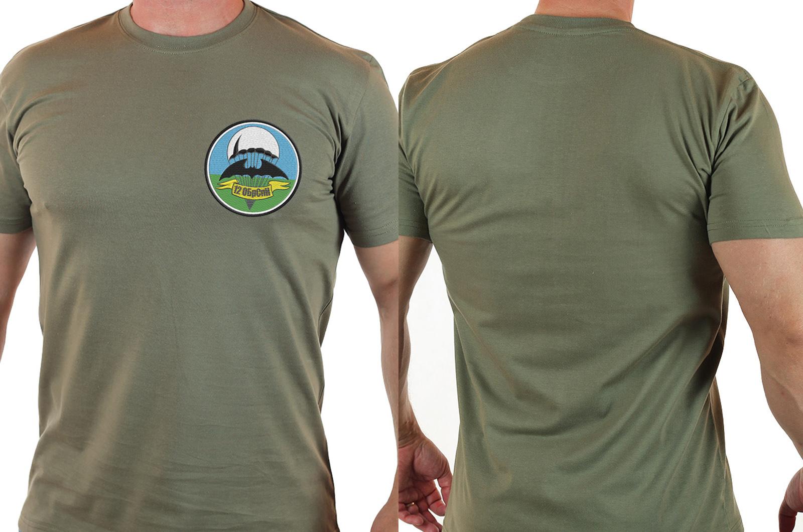 Хаки футболка для парней из 12 ОБрСпН