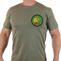 Хлопковая мужская футболка «14 отдельный погранотряд особого назначения БАРС»