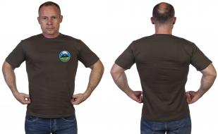 Оливковая мужская футболка 22 гв. ОБрСпН ГРУ