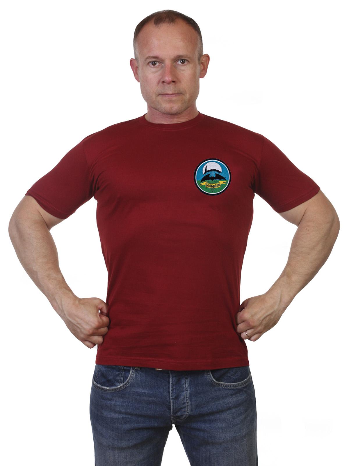 Купить в интернет магазине футболку 24 ОБрСпН