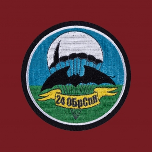 Мужская футболка 24 ОБрСпН