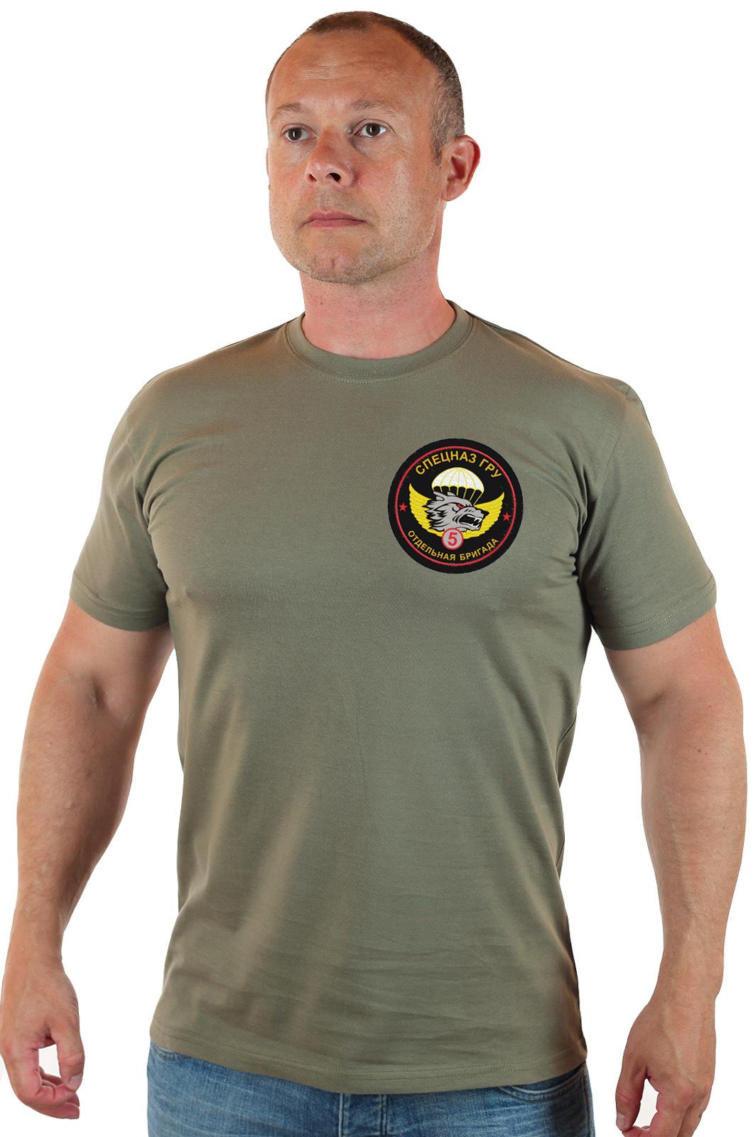 Купить в Москве футболку для парня с символикой Спецназа ГРУ