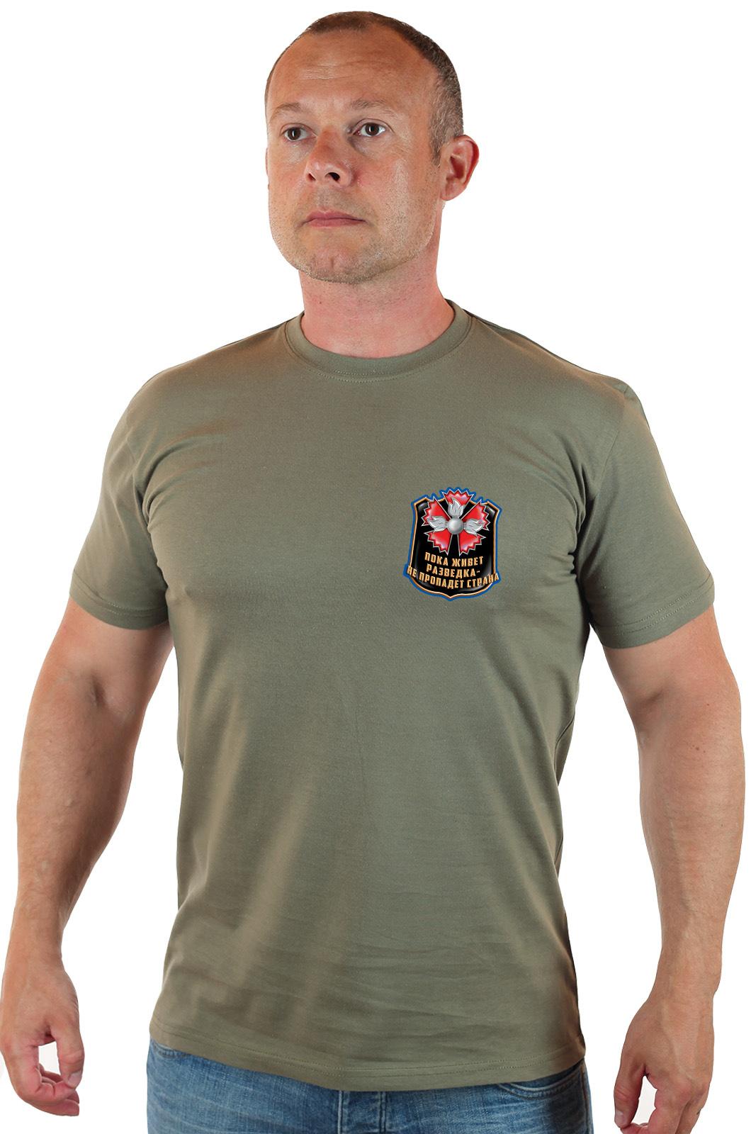 Купить футболку актуальную Военная разведка по оптимальной цене