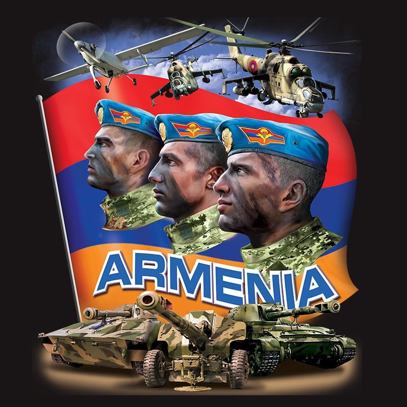 Футболка Армения с авторским принтом