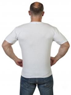 Белая мужская футболка Армия России по низкой цене