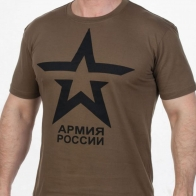Футболка с символикой ВС РФ