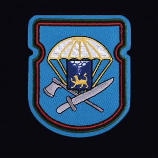 Футболка авторского дизайна с вышитым знаком 656-й отдельный инженерно-сапёрный батальон 76-ой ДШД - купить в подарок
