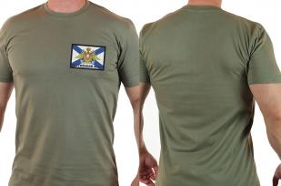 Мужская армейская футболка с шевроном Балтийский Флот ВМФ России