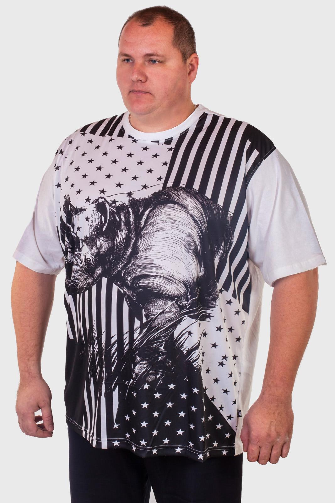 Мужские футболки больших размеров в интернет магазине Военпро