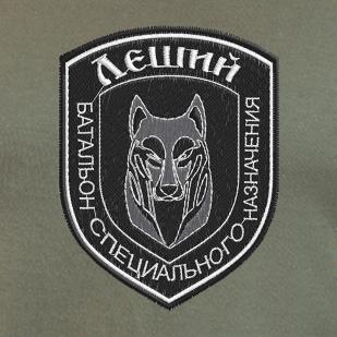 Мужская футболка с символикой батальона спецназначения ЛНР – ЛЕШИЙ!
