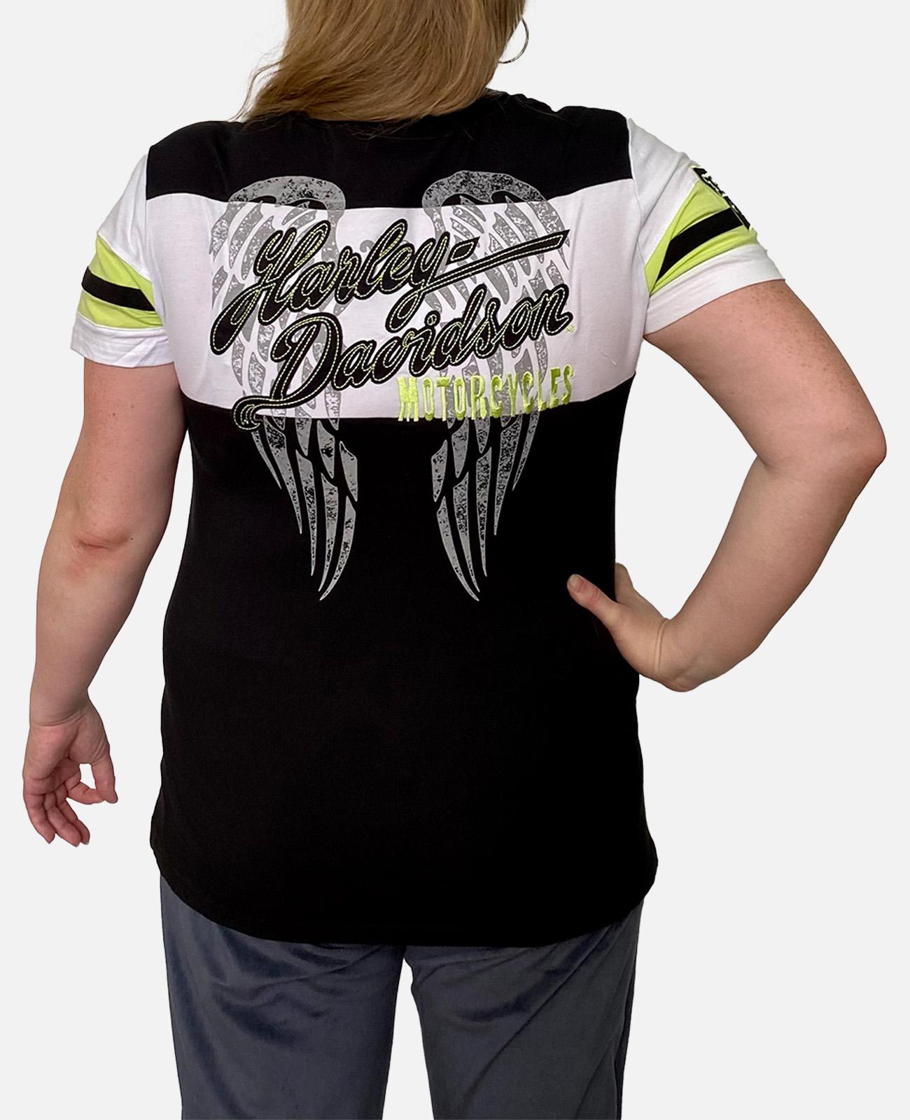 Недорогая хлопковая футболка Harley-Davidson