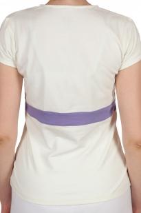 Футболка Bossini® Yoga для стильных женщин - вид сзади