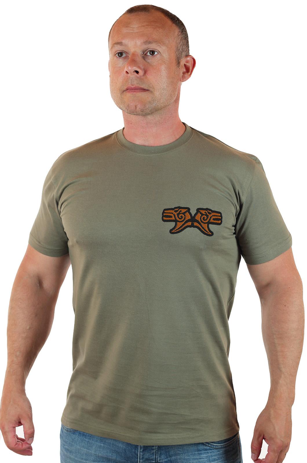 Купить в военторге Военпро мужскую футболку с вышивкой «Брат за брата»
