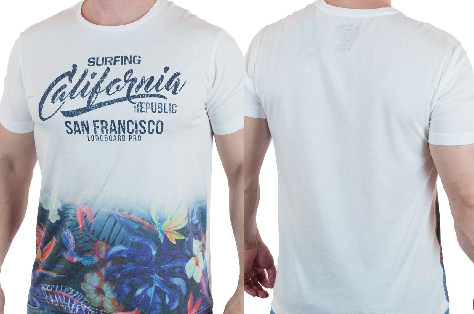 """Футболка """"California"""" от Traditional Quality Trademark с доставкой"""