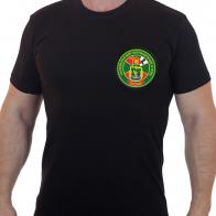Футболка черная с вышивкой Калевальский ПО КС ЗПО