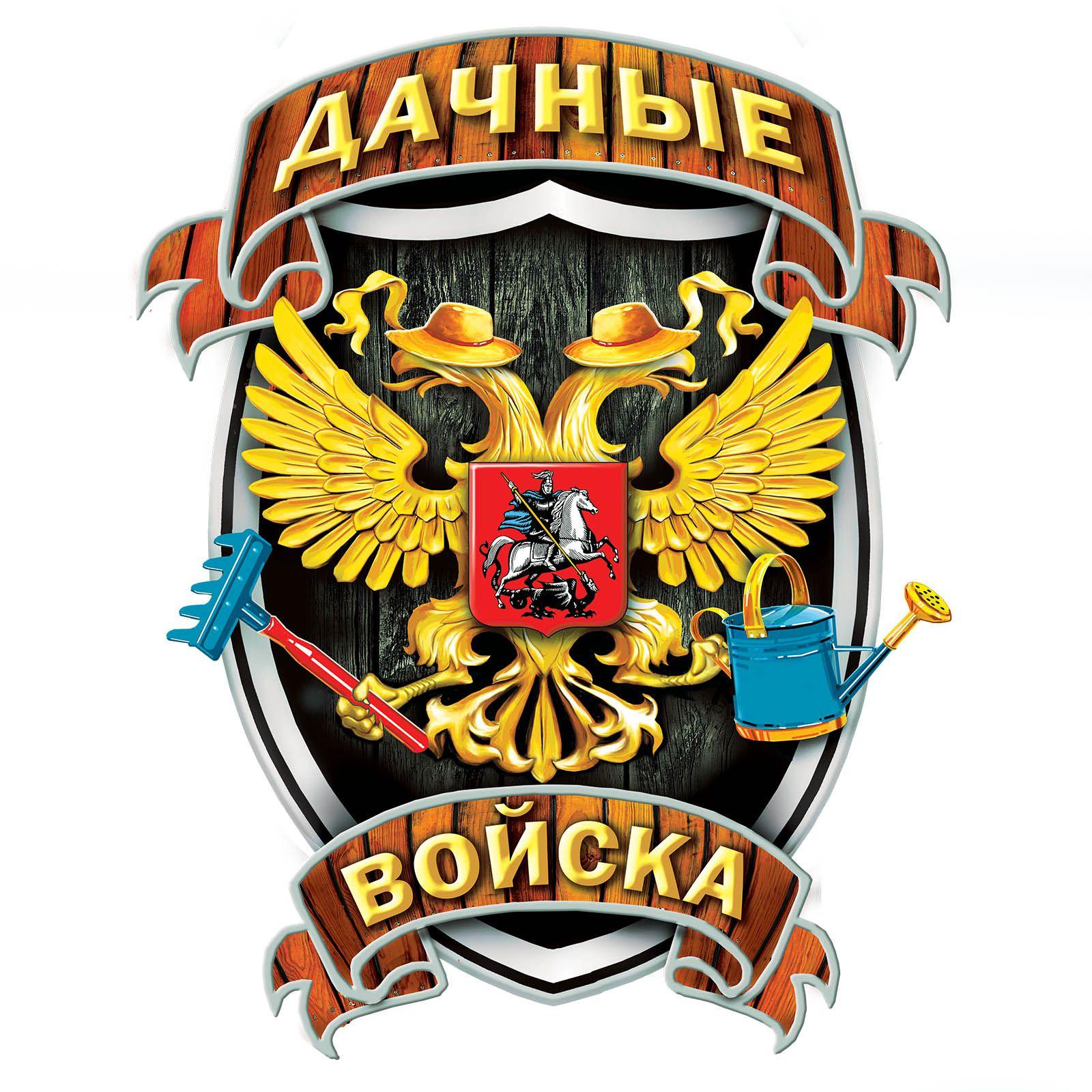 Футболка Дачных войск - принт спереди