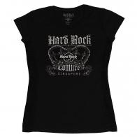 Футболка для девочки Hard Rock. Стильный внешний вид, натуральный хлопок