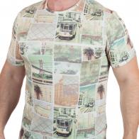 Брендовая мужская футболка Max Youngmen