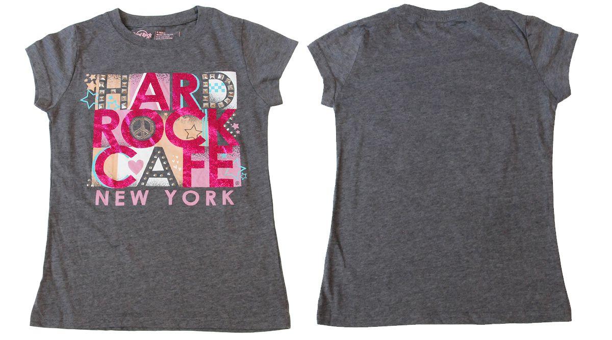 Детская футболка Hard Rock® New York  - общий вид