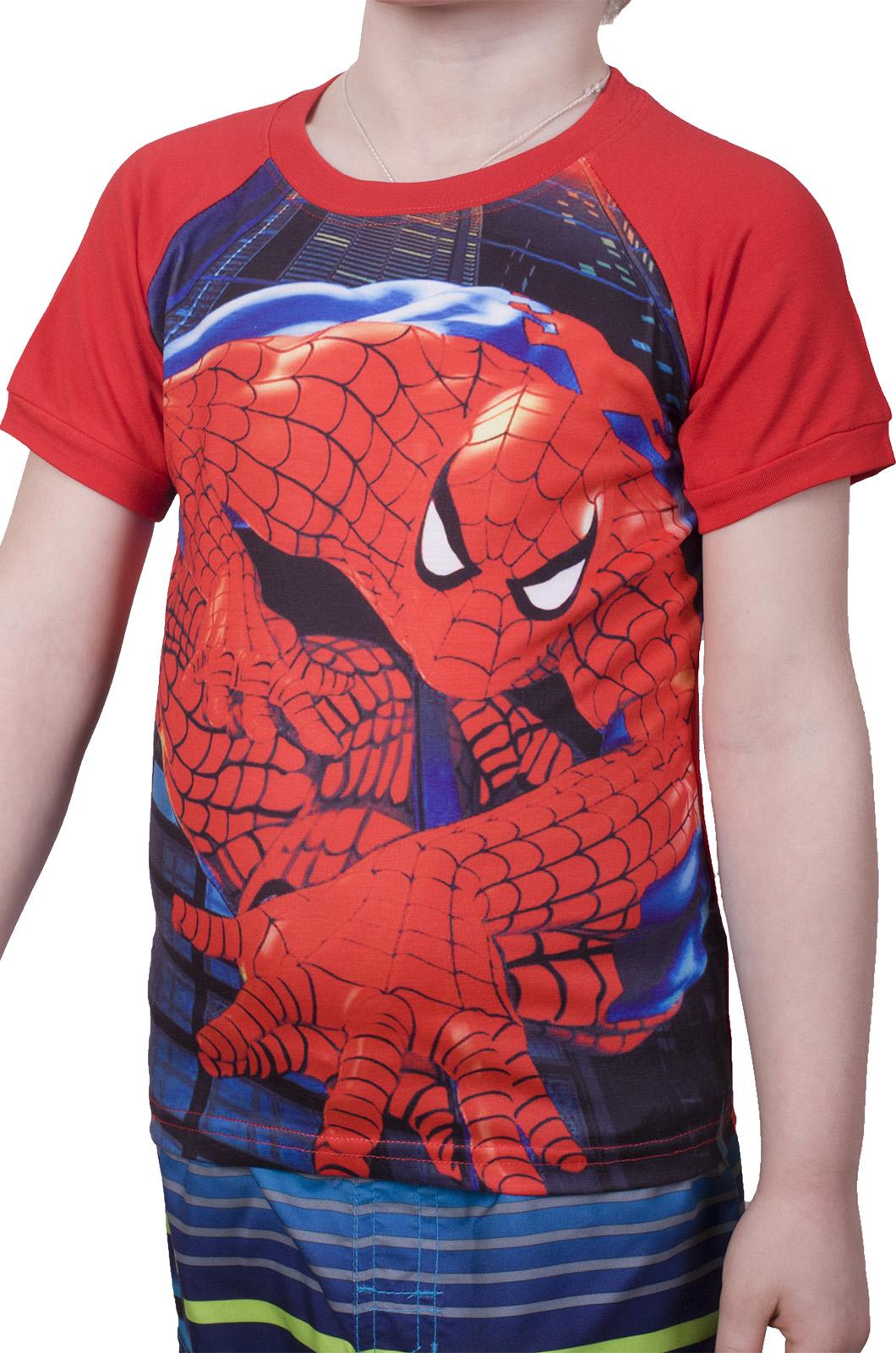 Заказать футболку для мальчика с Человеком Пауком