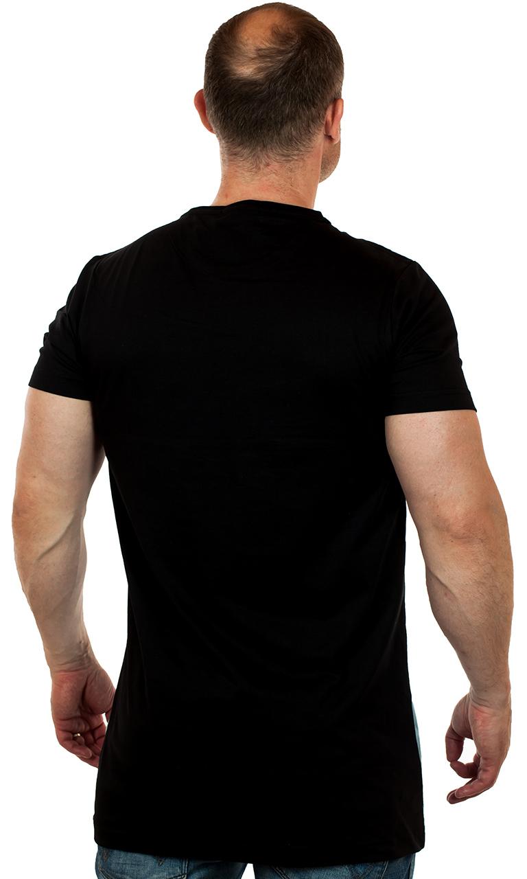 Удлиненная футболка для мужчин от бренда SPLASH – вырази свою индивидуальность
