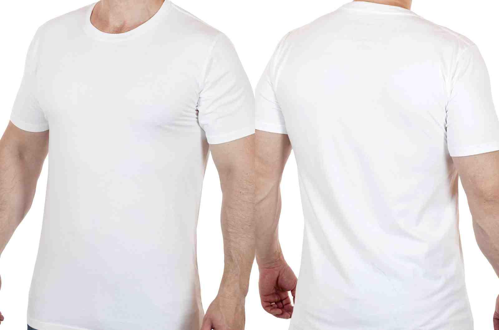 Футболка для серьёзных мужчин от ARTICLE (США)-двойной ракурс