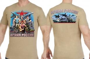 """Заказать футболки """"Военные Армии России"""""""