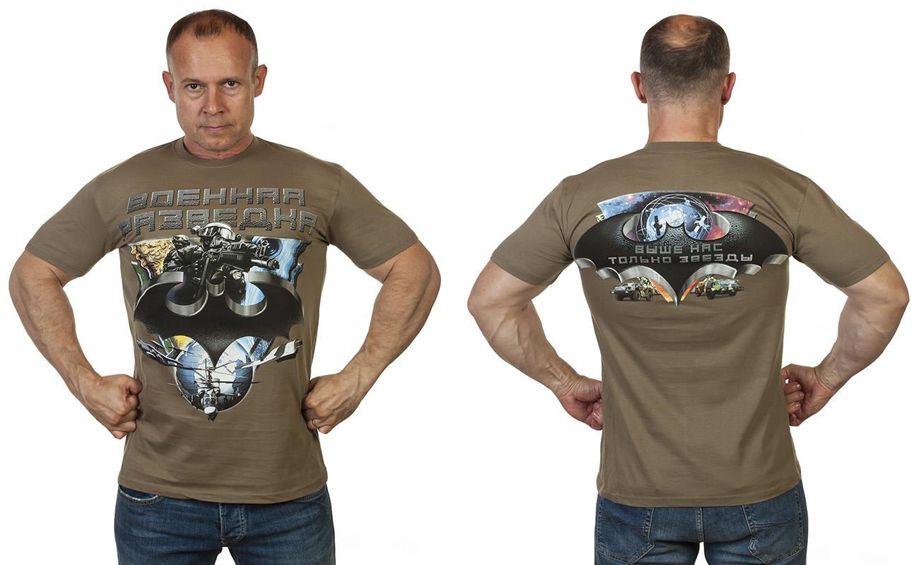 Заказать футболку Эмблема Военной разведки