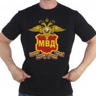 Мужская футболка с эмблемой МВД