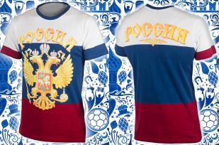 """Футболка """"From Russia with love"""" лучший сувенир с России по лучшей цене"""