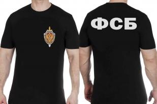 Заказать футболку ФСБ с вышитой символикой