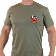 Правильная мужская футболка «Горжусь службой в Морской Пехоте».