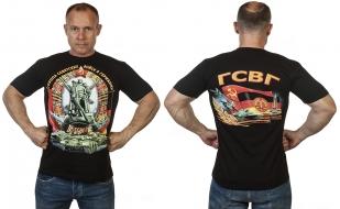 Мужская футболка с военно-патриотическим принтом ГСВГ - недорого оптом