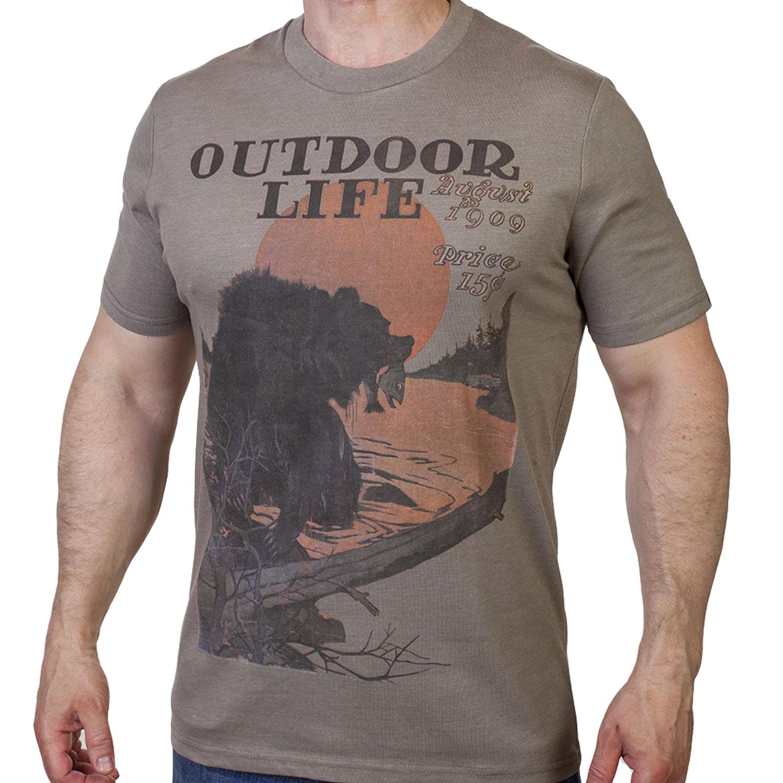 Повседневная брендовая футболка Guide Life.