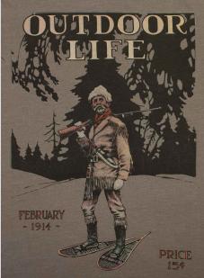 Модная мужская футболка Guide Life с рисунком.