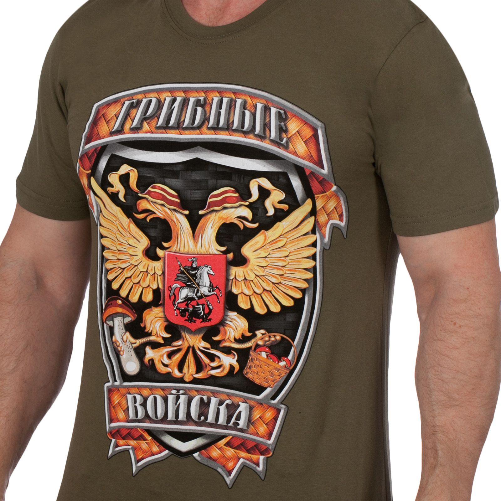 Купить футболку для Грибника в военторге Военпро