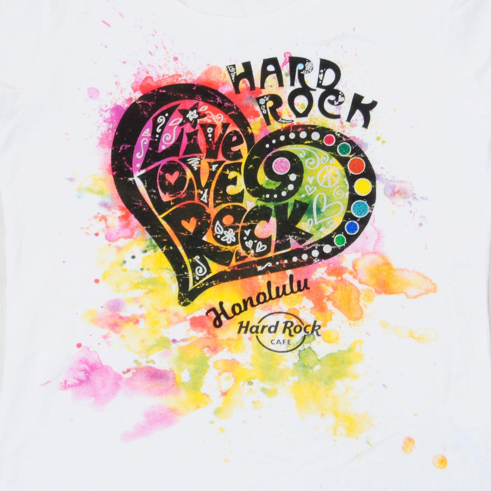 Футболка Hard Rock® Honolulu - твое праздничное настроение! - принт