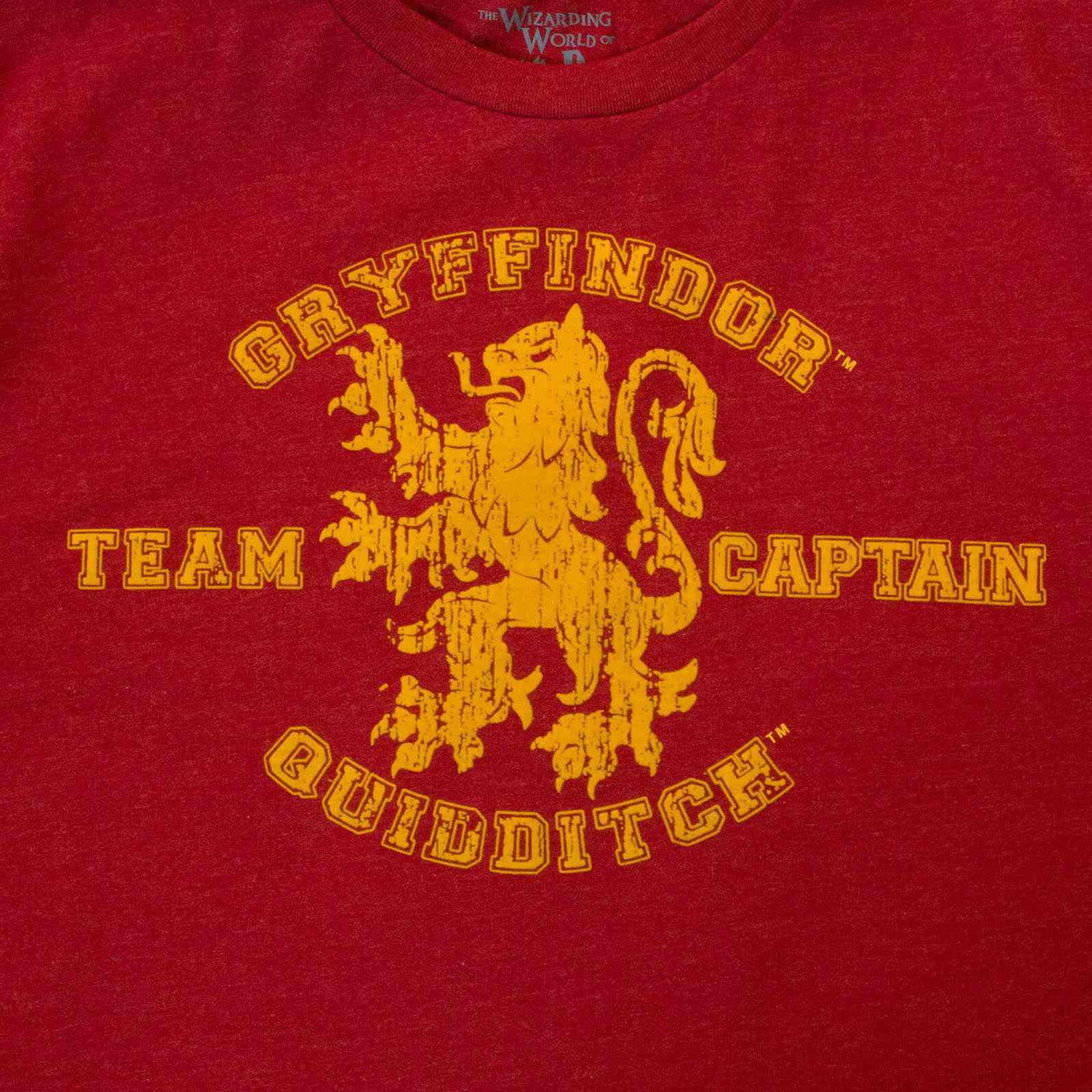 Футболка Harry Potter капитана Гриффиндора по квиддичу-увеличение
