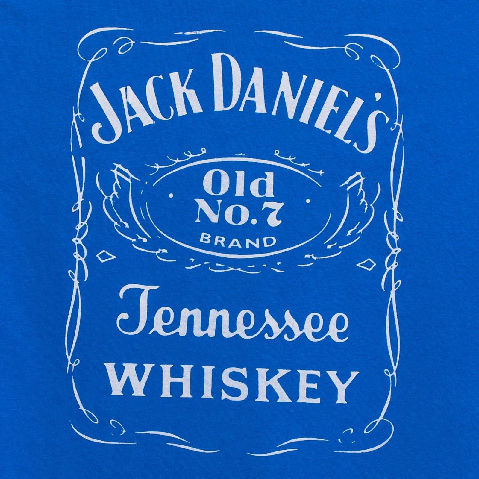 Футболка «Jack Daniels» синяя с доставкой