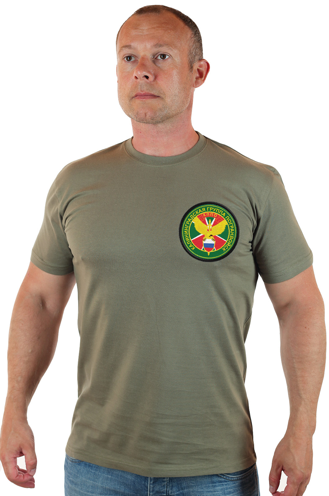 Купить футболку погранвойск в военторге Военпро