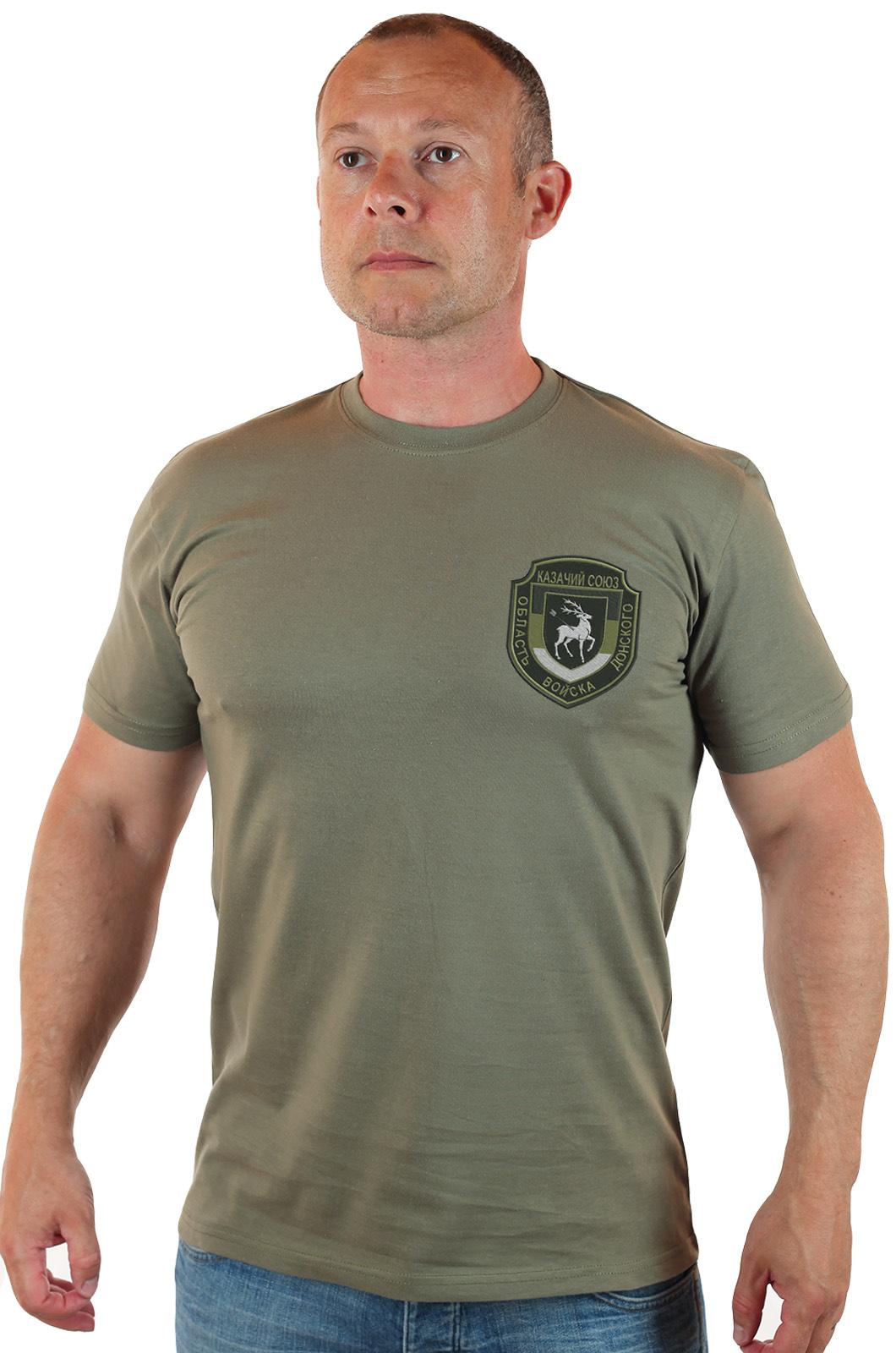Купить в военторге военную футболку Казачий Союз, Область войска Донского
