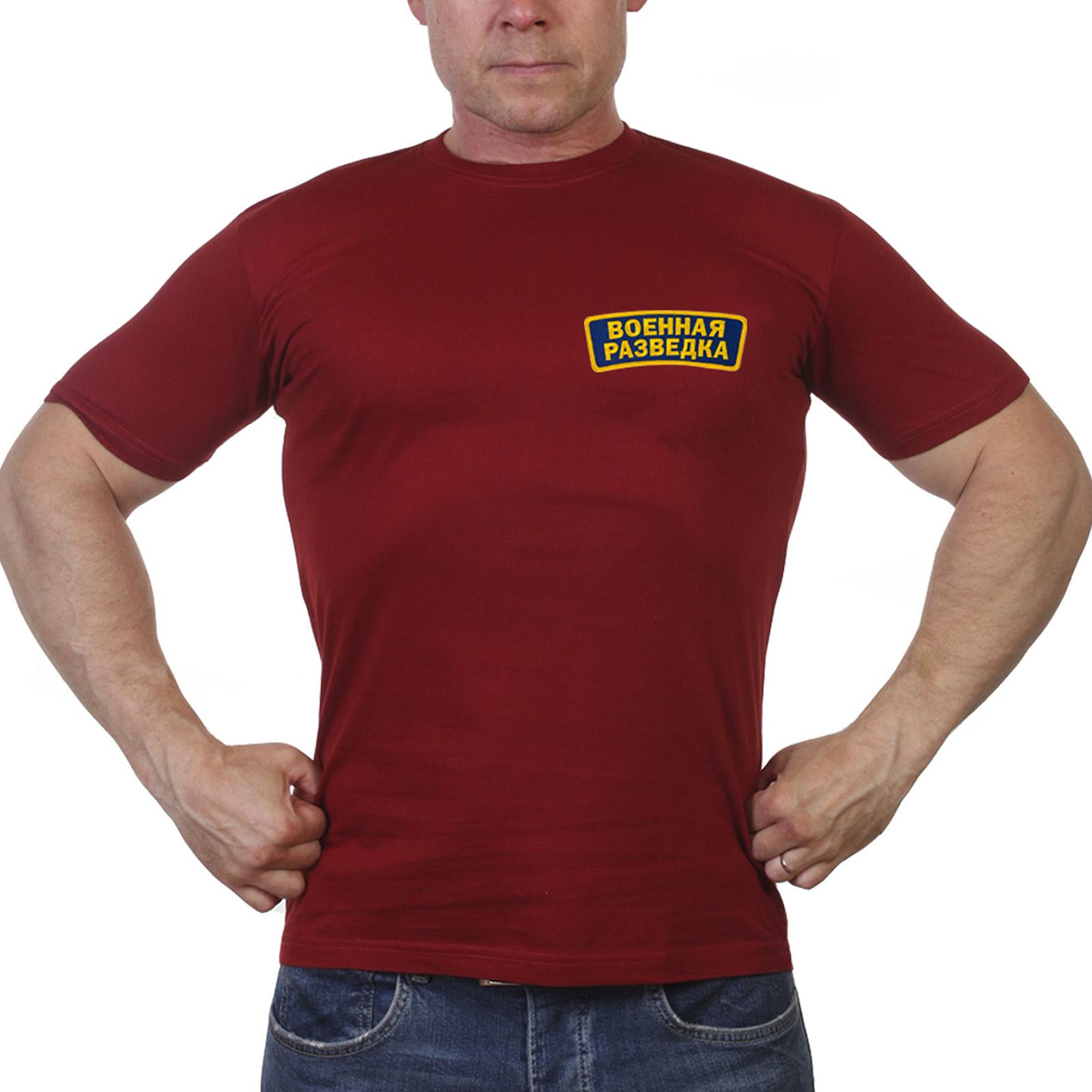 Мужская футболка классика Военная Разведка
