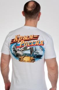 """Купить футболку """"Крым это Россия"""""""