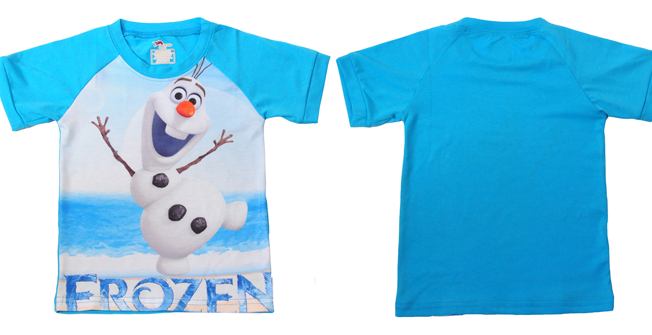 """Футболка летняя мальчику """"Frozen"""" с доставкой"""