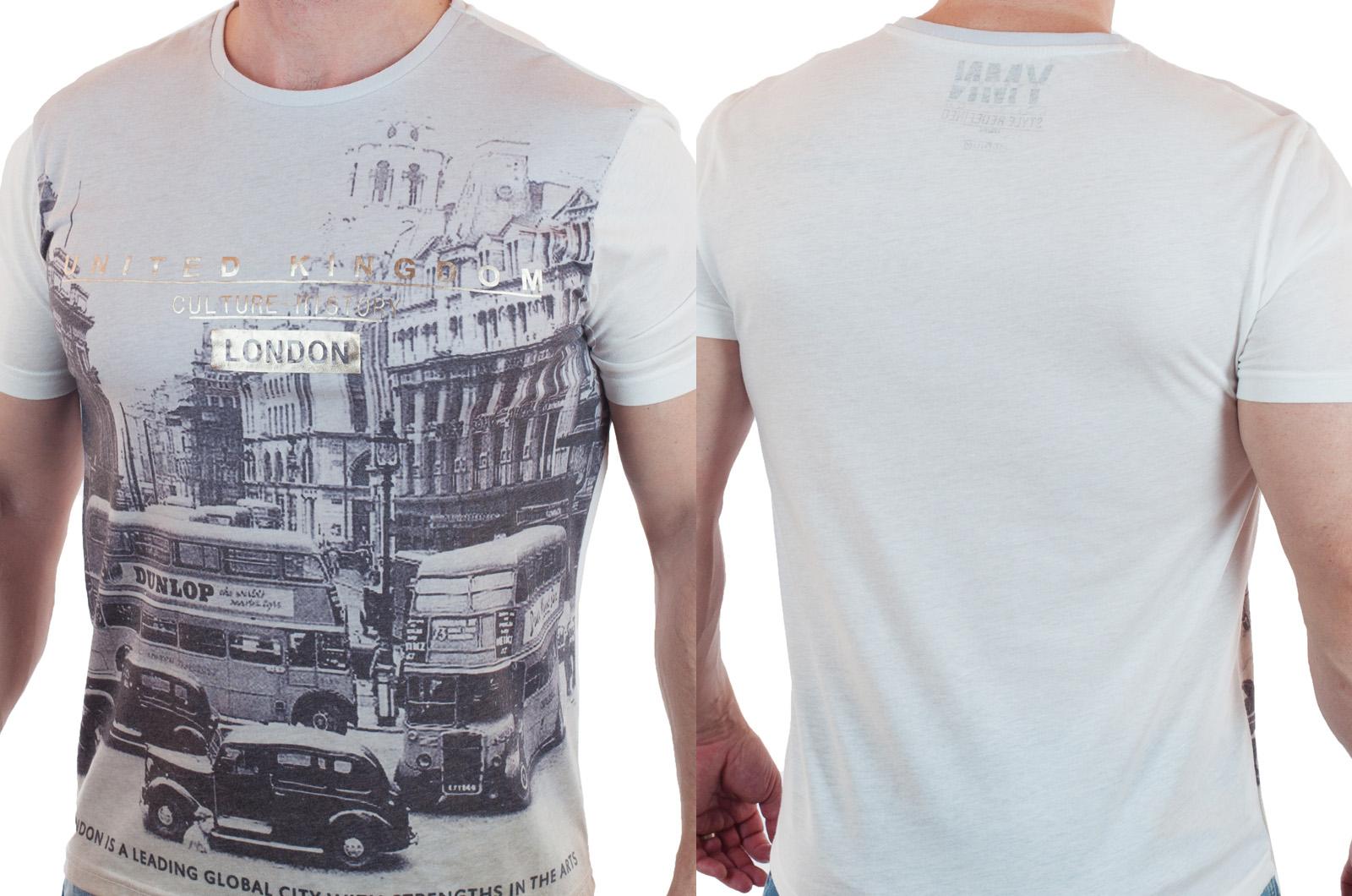 """Футболка """"London"""" от Max Youngmen с доставкой"""